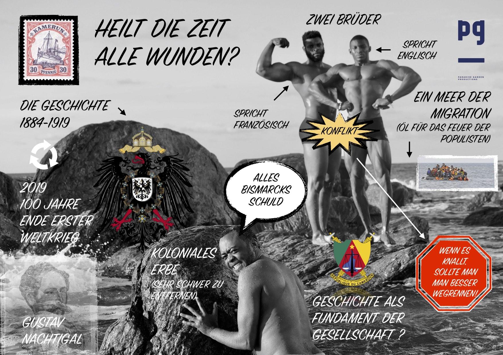 Poster Tragische Helden pur deutsch