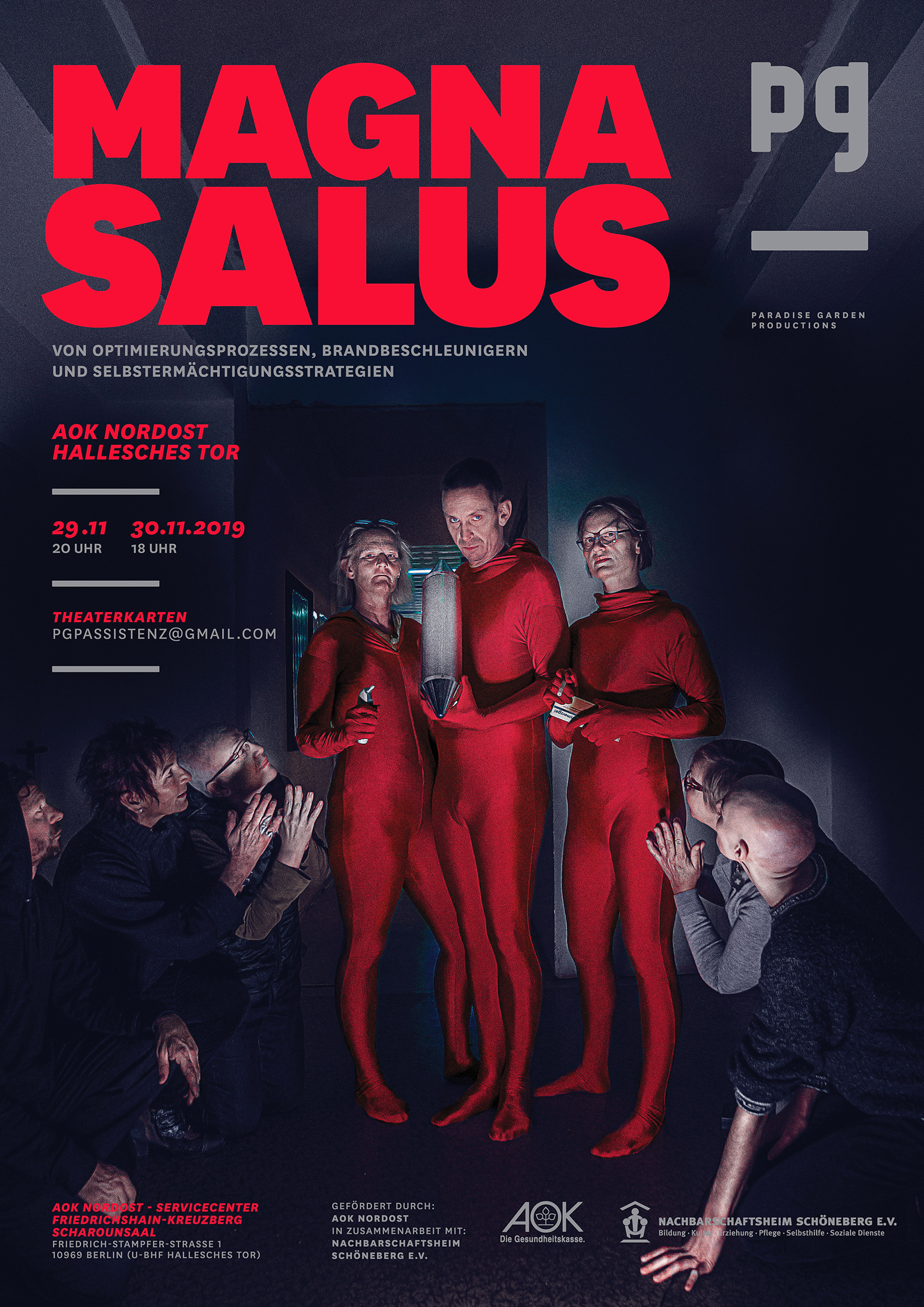 MAGNA SALUS – die sTROTZENDEN – Poster